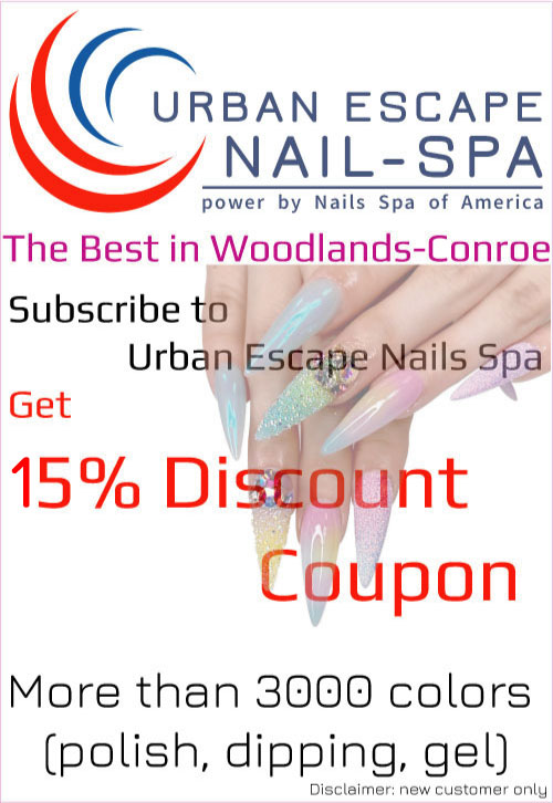 Urban Escape Nails Spa: Best Nails Salon near me Woodlands