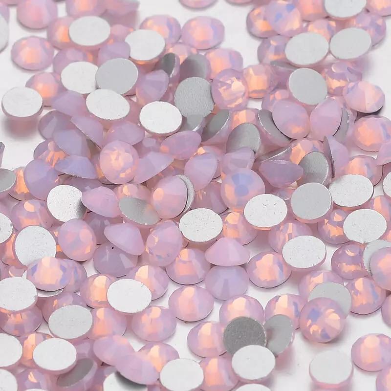 Rhinestone Crystal AB Pink Opal  (size SS-16) 1440