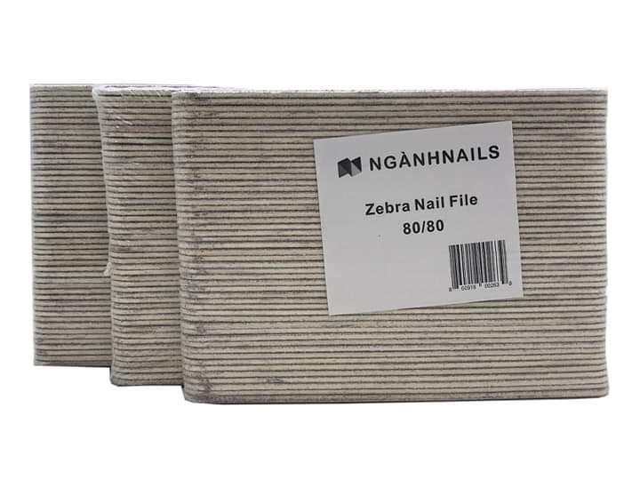Zebra Nails file dùng 1 lần 50/pack
