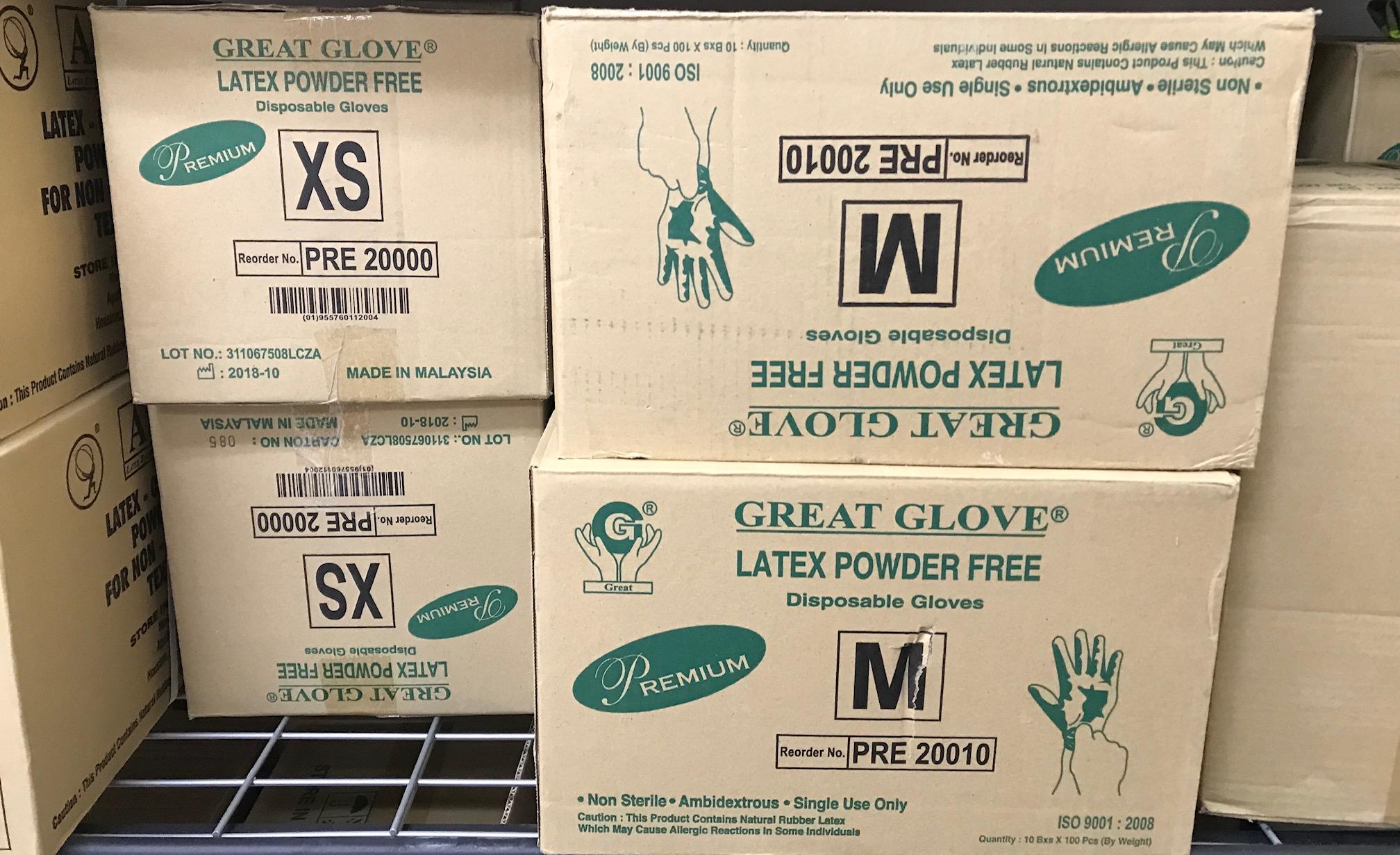 Great Glove - Bao tay cho Nails - 1 thùng 10 hộp