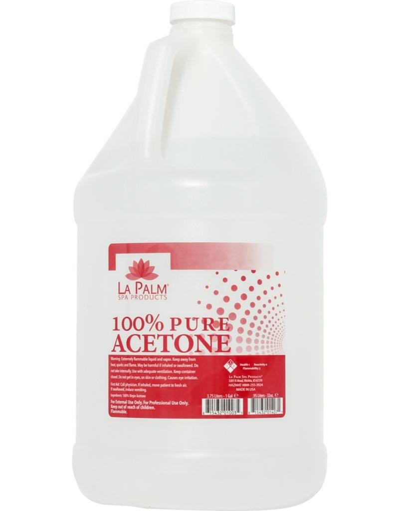 Acetone 100% - LaPalm 1 Case 4 bottle