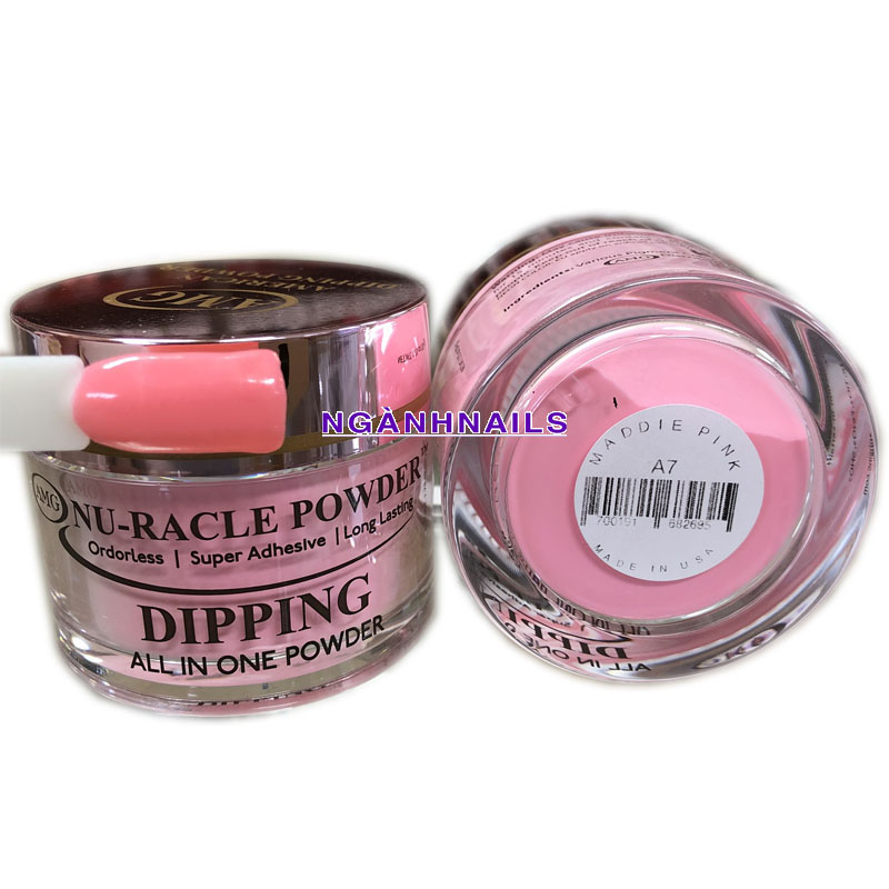 AMG – A07 MADDIE PINK  - SOLID COLOR - 2OZ