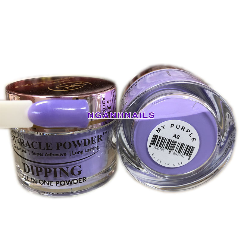 AMG – A08 MY PURPLE  - SOLID COLOR - 2OZ