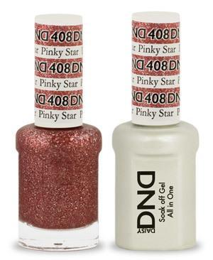 DND Gel Lacquer 408 Pinky Star