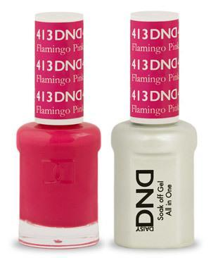 DND Gel Lacquer 413 Flamingo Pink