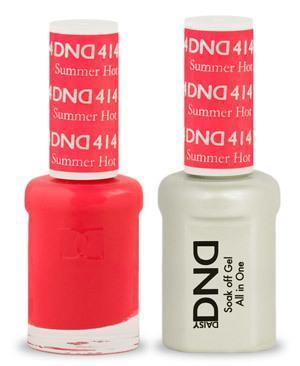 DND Gel Lacquer 414 Summer Hot Pink