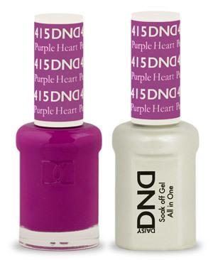 DND Gel Lacquer 415 Purple Heart