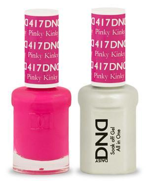 DND Gel Lacquer 417 Pinky Kinky