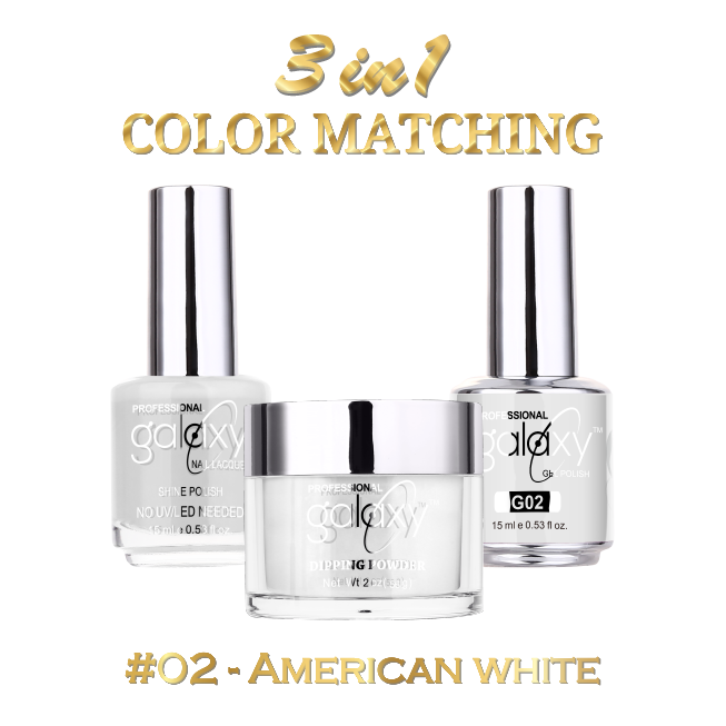 Galaxy 3 in 1 - American White 02