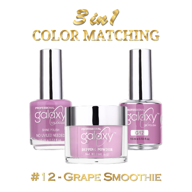 Galaxy 3 in 1 - Grape Smoothie 12