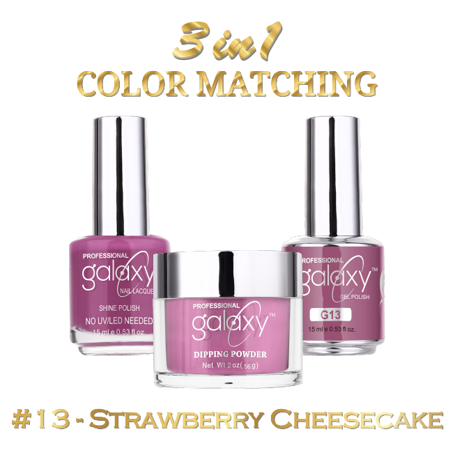 Galaxy 3 in 1 - Strawberry Cheesecake 13