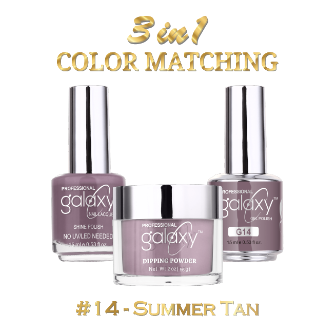 Galaxy 3 in 1 - Summer Tan 14