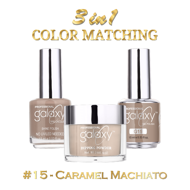 Galaxy 3 in 1 - Caramel Machiato 15